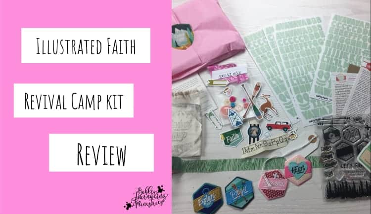 Revival Camp Bible Journaling With The Latest Illustrated Faith Kit