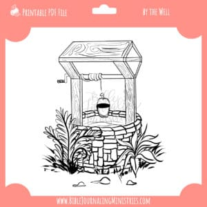 By the Well Digital Stamp