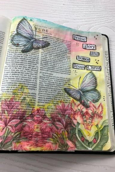 Joining the A Joyful Heart - Bible Journaling Study Jude 1:24