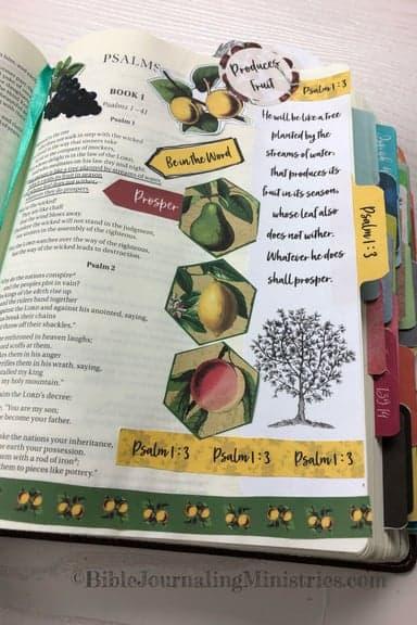 Joining the A Joyful Heart - Bible Journaling Study Psalm 1:3