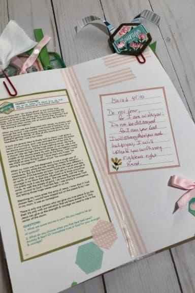 Illustrated Faith Revival Camp Devotional Kit Isaiah 41:10
