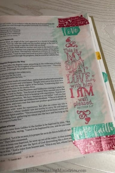 An Overview of the Gospel of Matthew 3:17