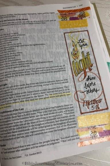 An Overview of the Gospel of Matthew 5:16