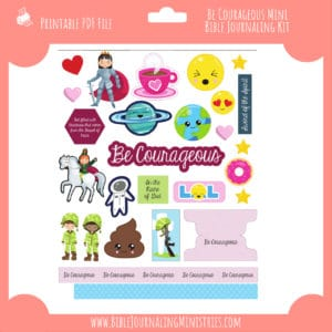 be courageous mini kit