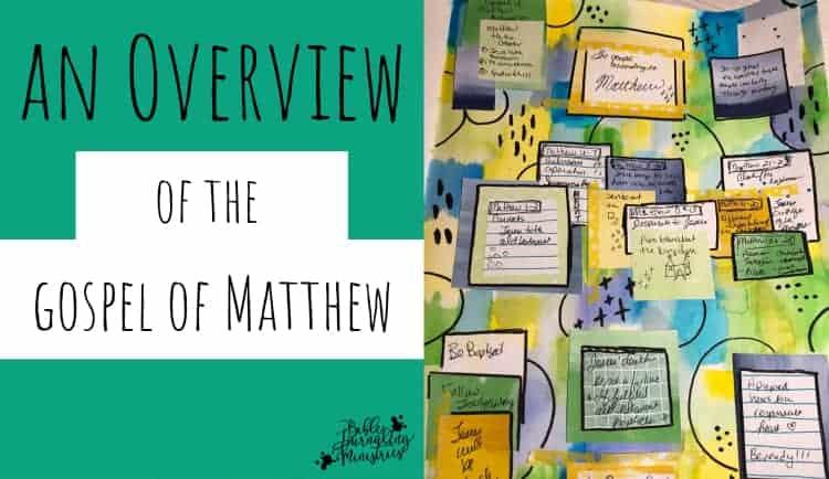 Bible Journaling the Gospel of Matthew