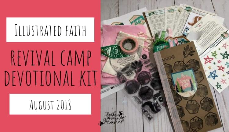 Illustrated Faith Revival Camp Devotional Kit August 2018