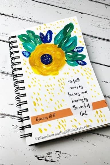 Faith Art Journaling Romans