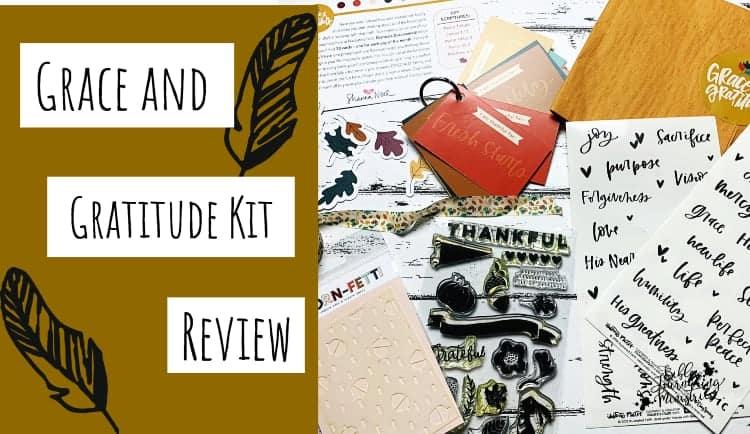 Illustrated Faith Grace and Gratitude Kit