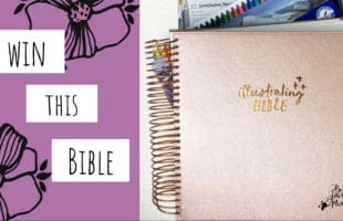 Win an Illustrating Bible or a Bible of Your Choice – 2019!
