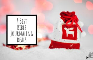 7 Best Bible Journaling Deals for  Black Friday