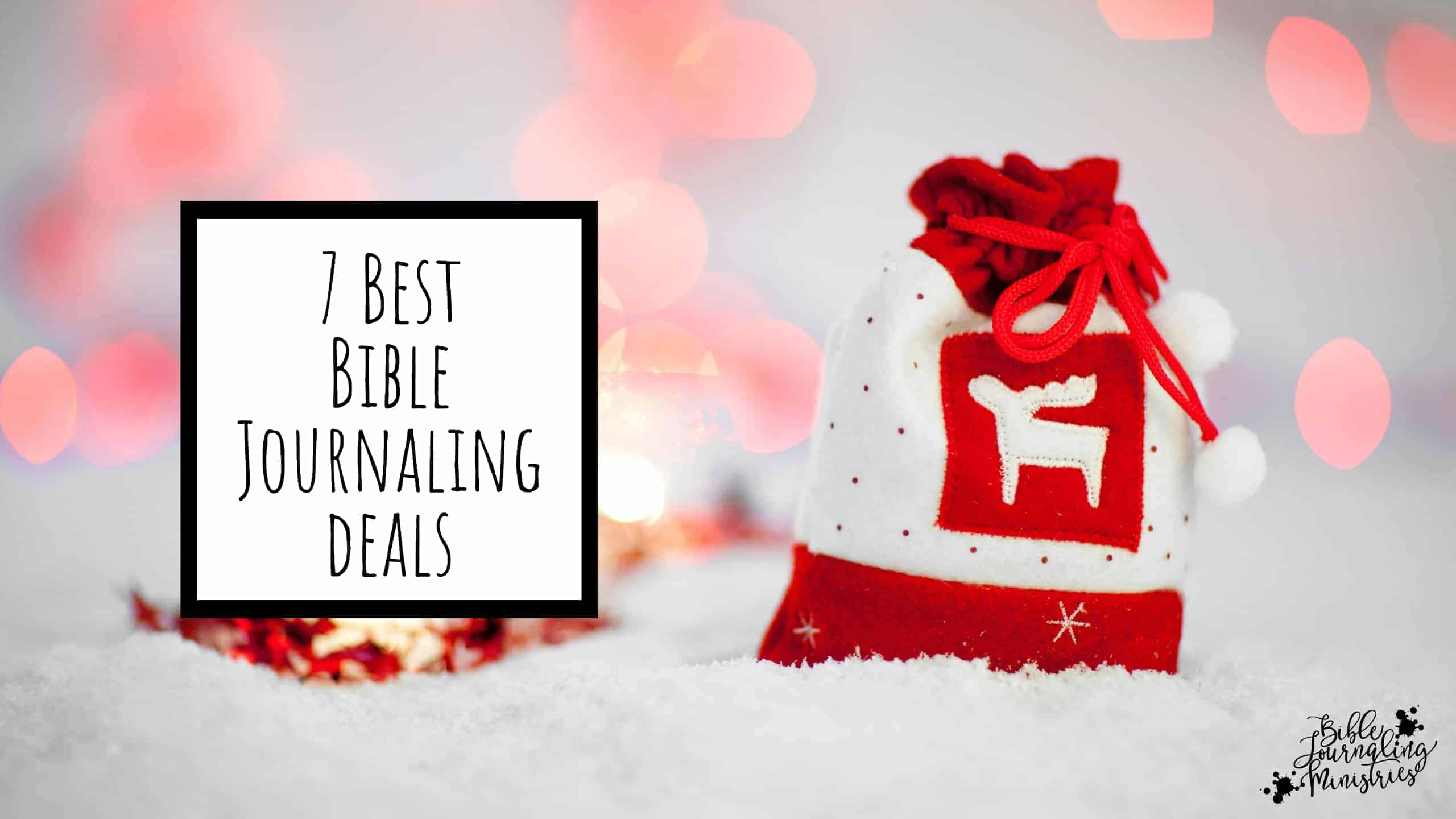 7best bible journaling deals