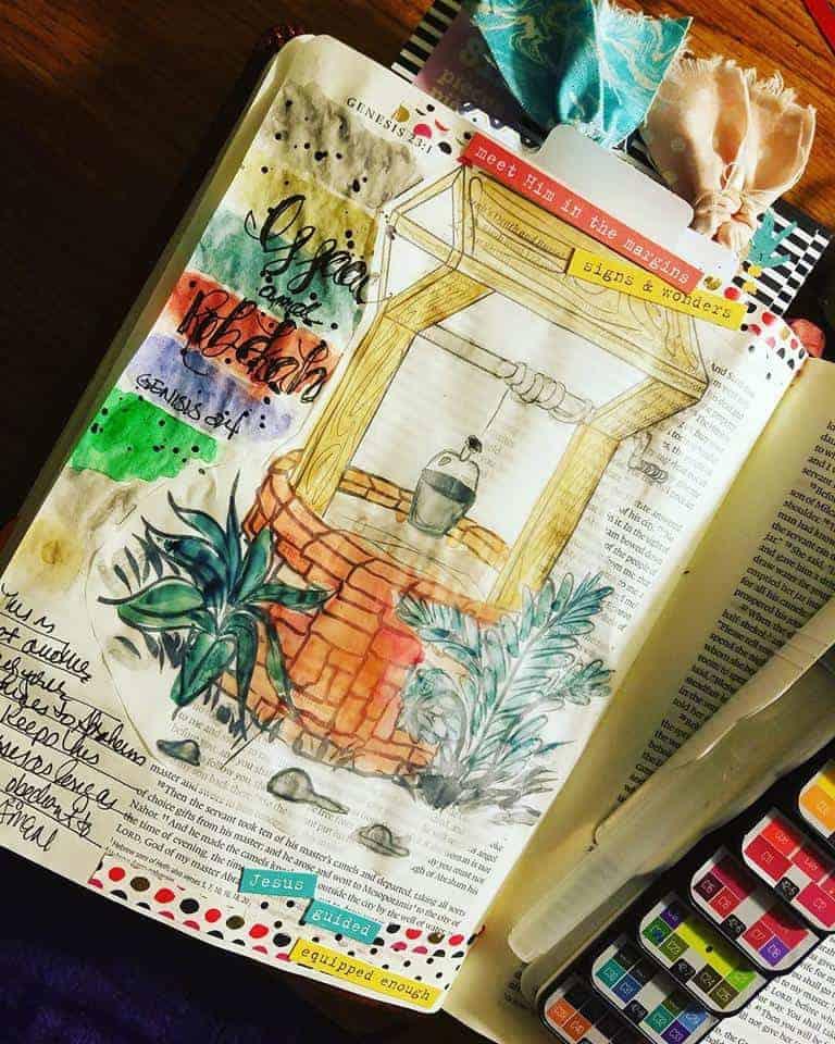 Sale Bible Art Journaling Supplies