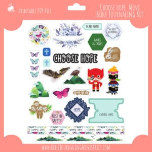 Choose Hope Mini Bible Journaling Kit