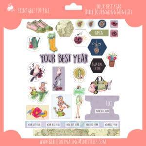 Your Best Year Mini Bible Journaling Kit