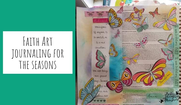 Bible Journaling for the Seasons