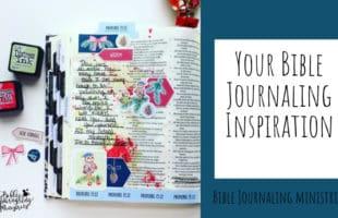 Your Bible Journaling Inspiration