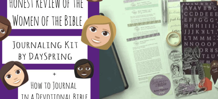 Women of the Bible Better Together Bible Journaling Kit