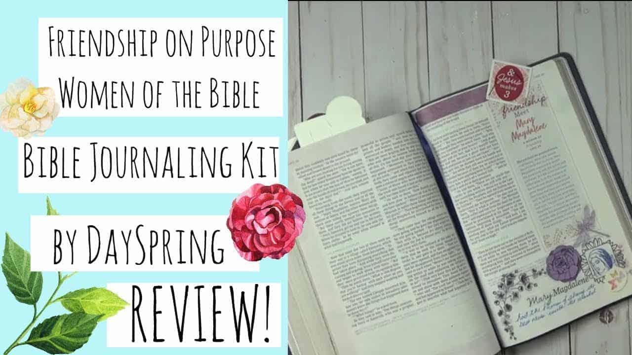 Women of the Bible Friendship on Purpose Bible Journaling Kit