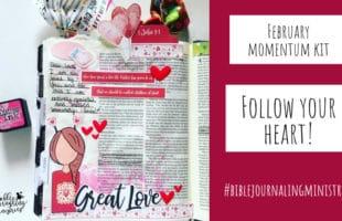 Follow Your Bible Journaling Heart