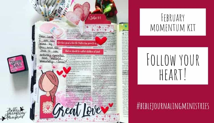 Follow Your Bible Journaling Heart