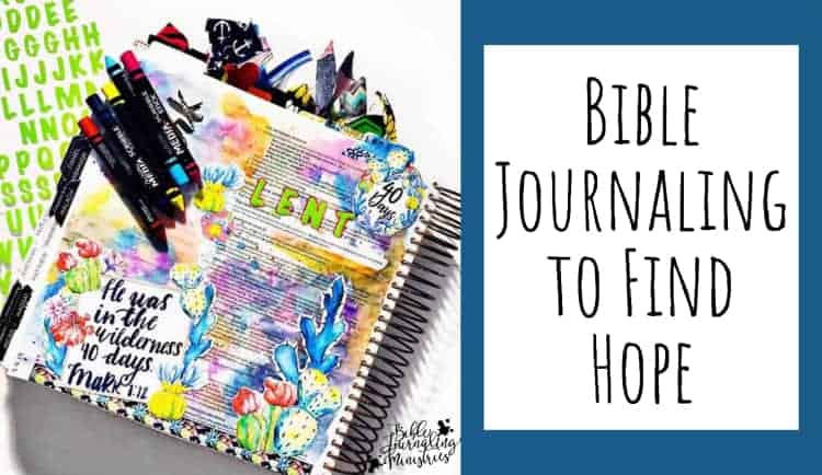 Bible Journaling to Find Hope