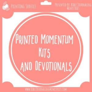 Momentum Kits Printed