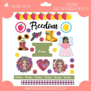 Freedom Bible Journaling Mini Kit