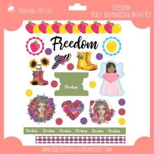 Freedom Bible Journaling Mini Kit