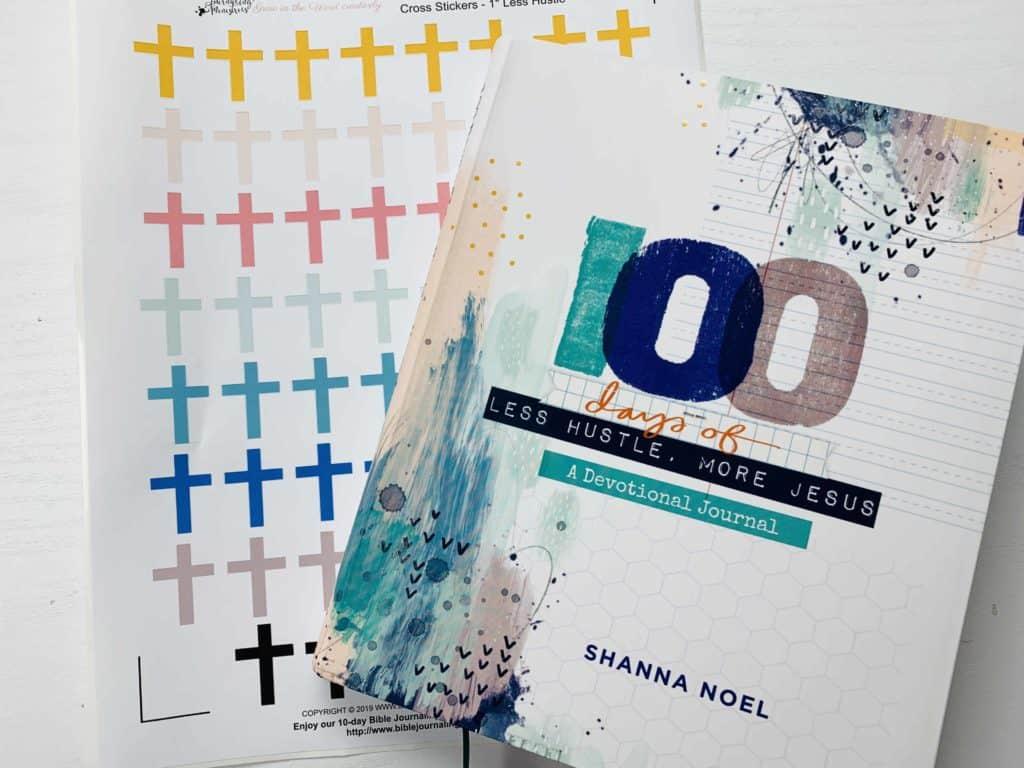 Image De Noel Jesus.100 Days Devotional Less Hustle More Jesus By Shanna Noel