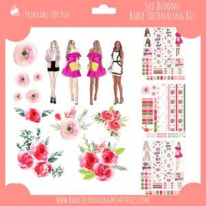 She Blooms Planner Kit