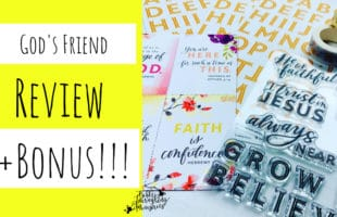 Holley Gerth Bible Journaling Kit: God's Friend