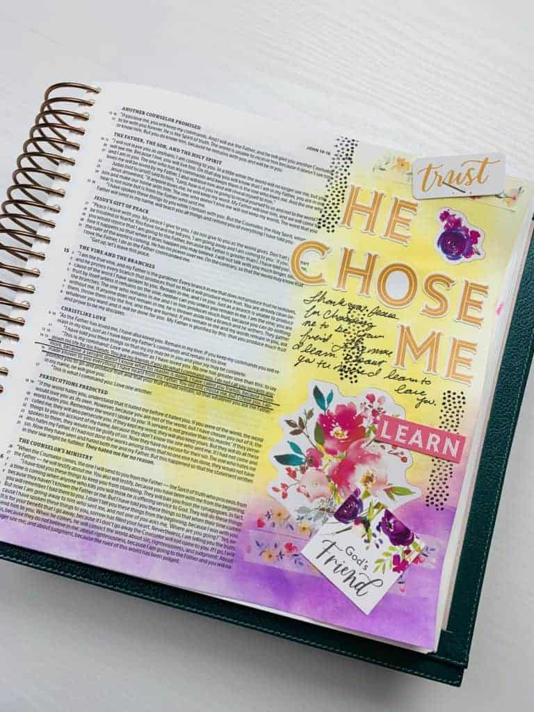 holley gerth bible journaling kit John