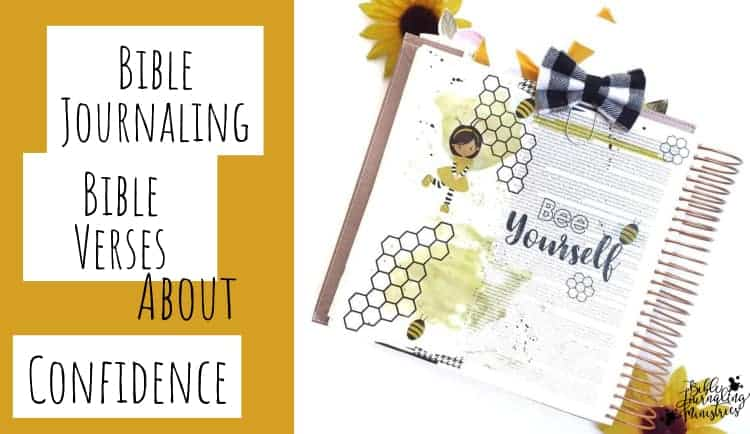Bible Journaling Bible Verses About Confidence