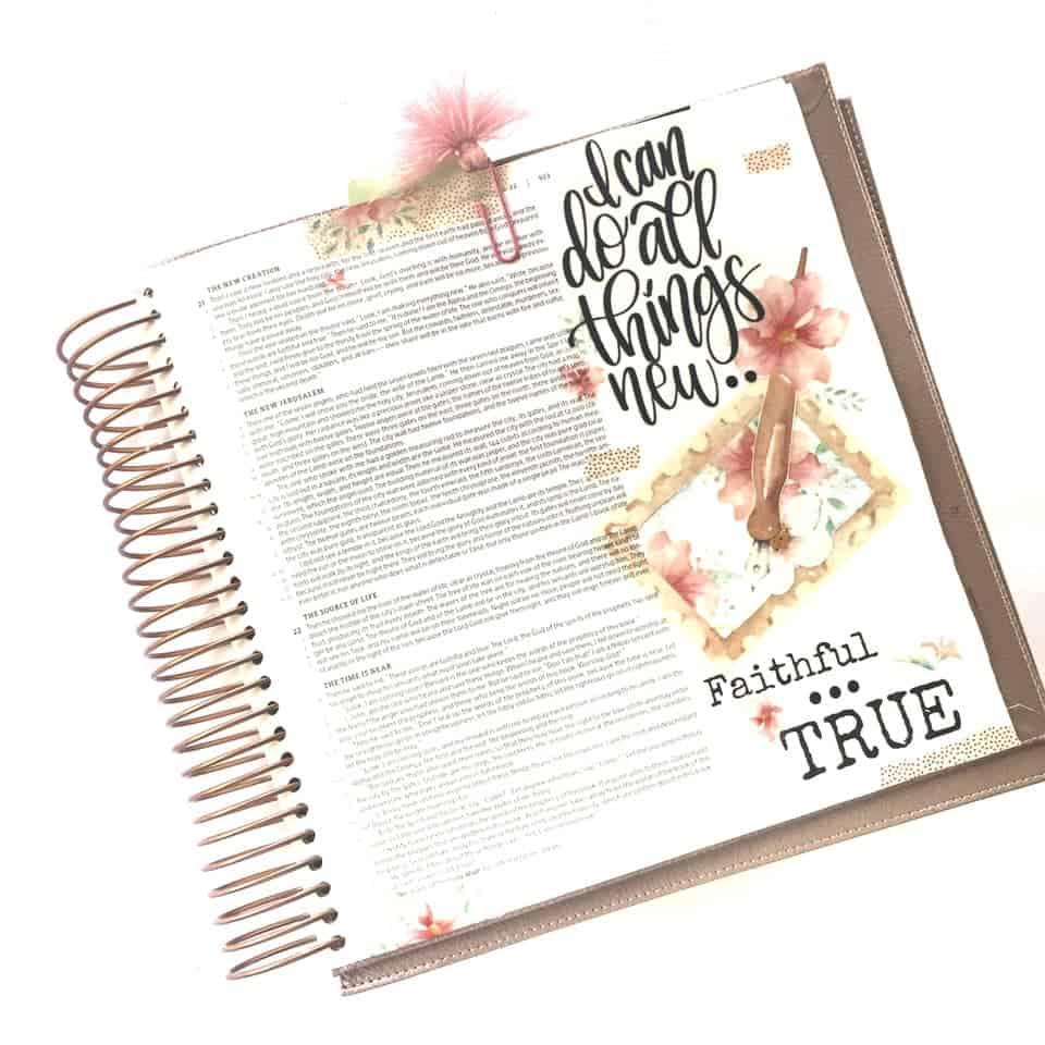 Bible Journaling in Revelation