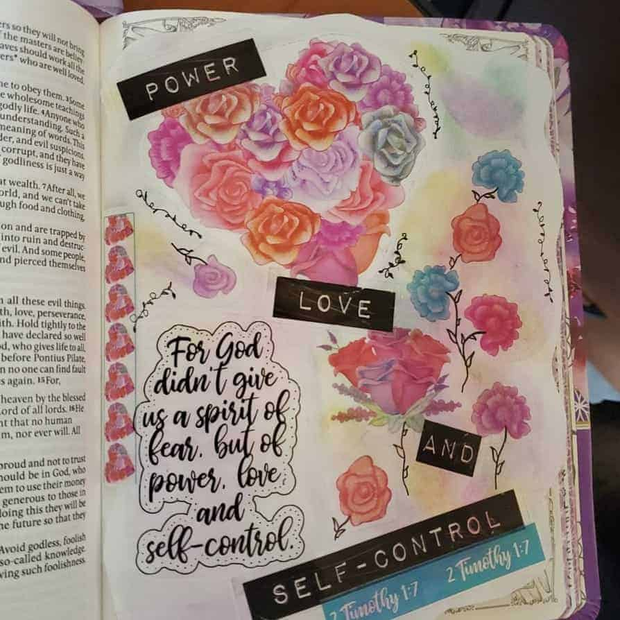 Bible Journaling in 2 Timothy