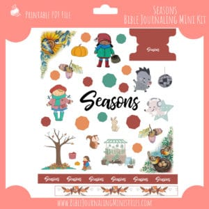 Seasons Mini Bible Journaling Kit