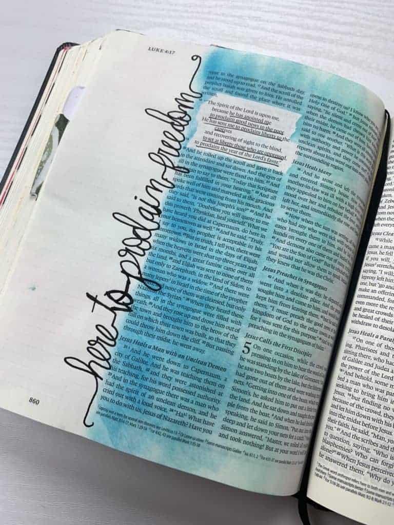 Luke 4:17-19