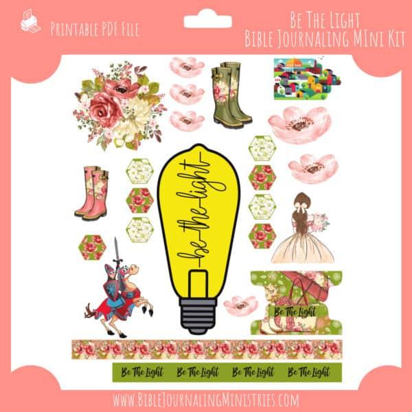 Be The Light Mini Bible Journaling Kit