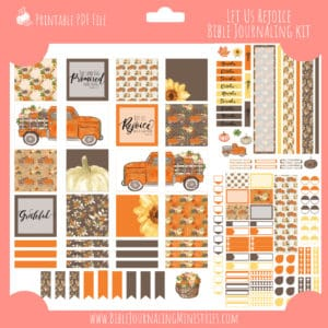 Let us Rejoice Planner Kit