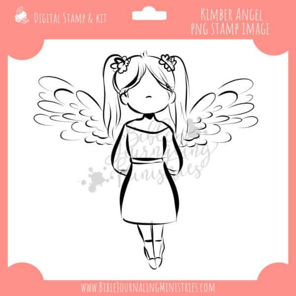 Kimber Angel Digital Stamp