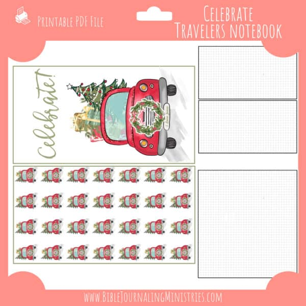 December Notebook Insert