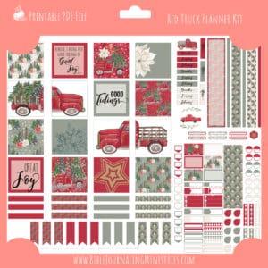 Red Truck Planner Kit