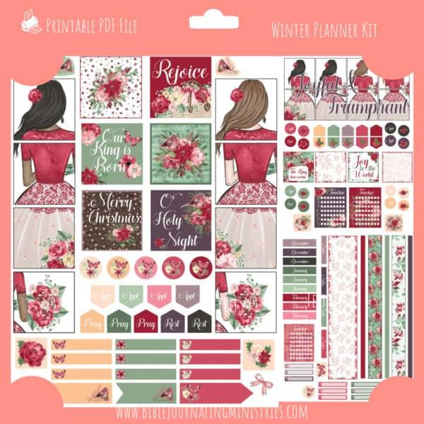 Winter Planner Kit