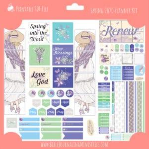 Spring 2020 Planner Kit