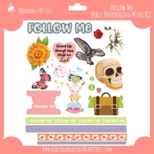 Follow Me Mini Bible Journaling Kit