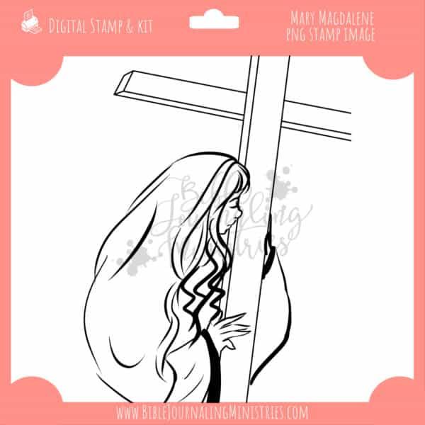 Mary Magdalene Digital Stamp