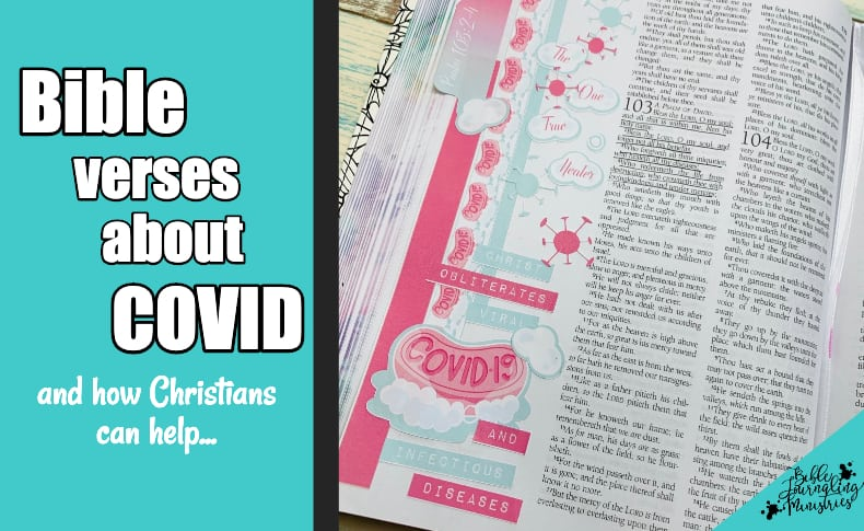 Bible Verses About the Coronavirus and Free Bible Journaling Printable