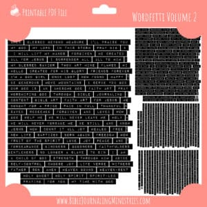 Wordfetti Volume 2