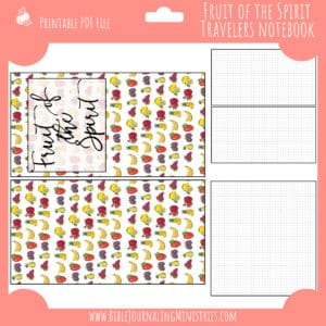July Notebook Insert