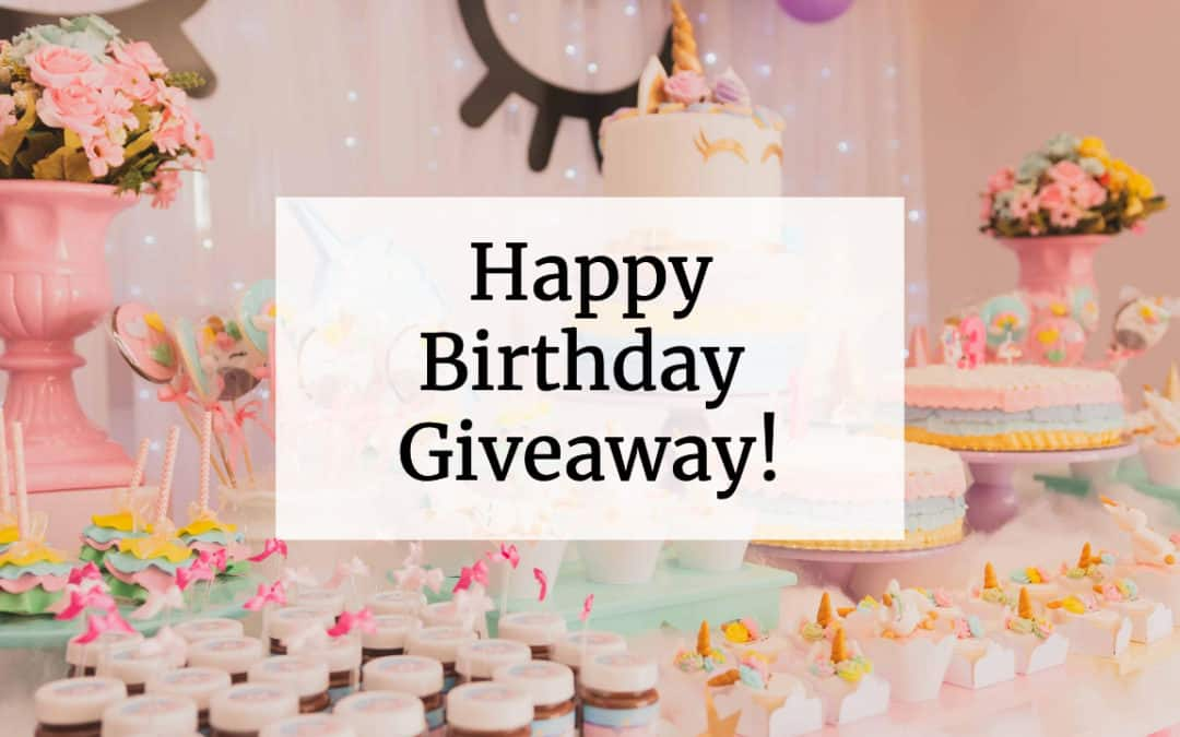 Tracie's Birthday Giveaway May 2020